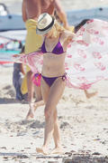 Naomi Watts - at a beach in St. Barts 12/29-30/12