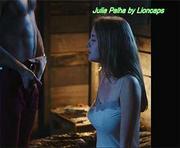 Julia Palha sensual na curtametragem Coelho Mau