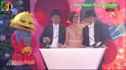 Fátima Lopes sensual na gala de natal da Tvi