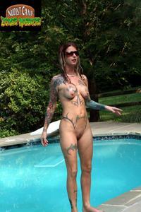 Nudist camp zombie