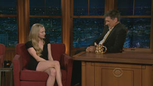 Amanda Seyfried - The Late Late Show with Craig Ferguson (2010), 720p