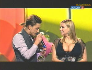 Anna Semenovich - on Russian TV