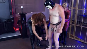 Domina-Bizarre: Mistress Ann & Lady Mercedes Sissification  (Part 1-4)