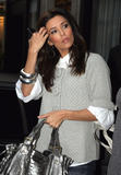 Eva Longoria arrives for a dinner at the Apicius with Tony Parker's family in Paris - May 8th